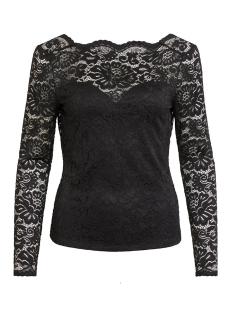 Vila T-shirt VIELLIS L/S TOP/TB 14054868 Black