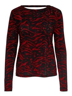 onlanja l/s top jrs 15189345 only t-shirt merlot/dandy tiger