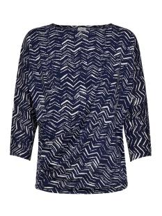 Jacqueline de Yong T-shirt JDYHEART 3/4 TOP JRS 15184763 Peacoat/PEACOAT