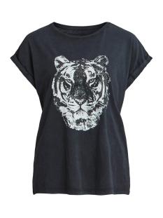 Vila T-shirt VISANAS GLITTER S/S T-SHIRT 14057526 Black