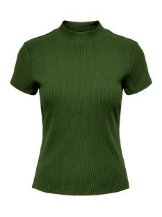 onlnitta s/s mock neck top cs 2 jrs 15201375 only t-shirt forest night