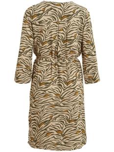 objbay 3/4 dress aop seasonal 23029368 object jurk humus