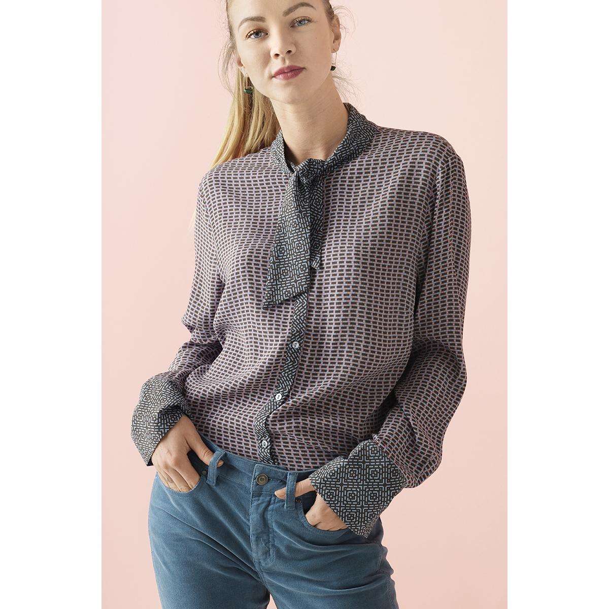 woven top l s u1023 saint tropez blouse 9341