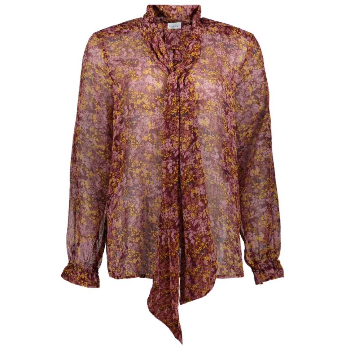 woven blouse ls u1110 saint tropez blouse 7232