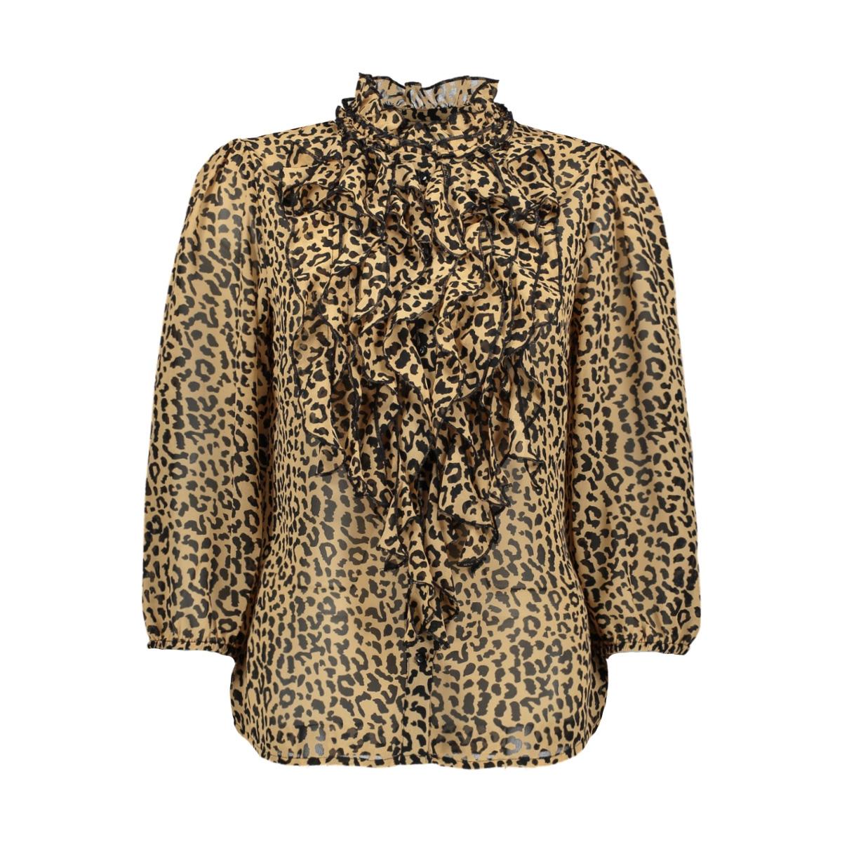 lilly ss top batik 30510388 saint tropez blouse 19 3911 black beauty leopard