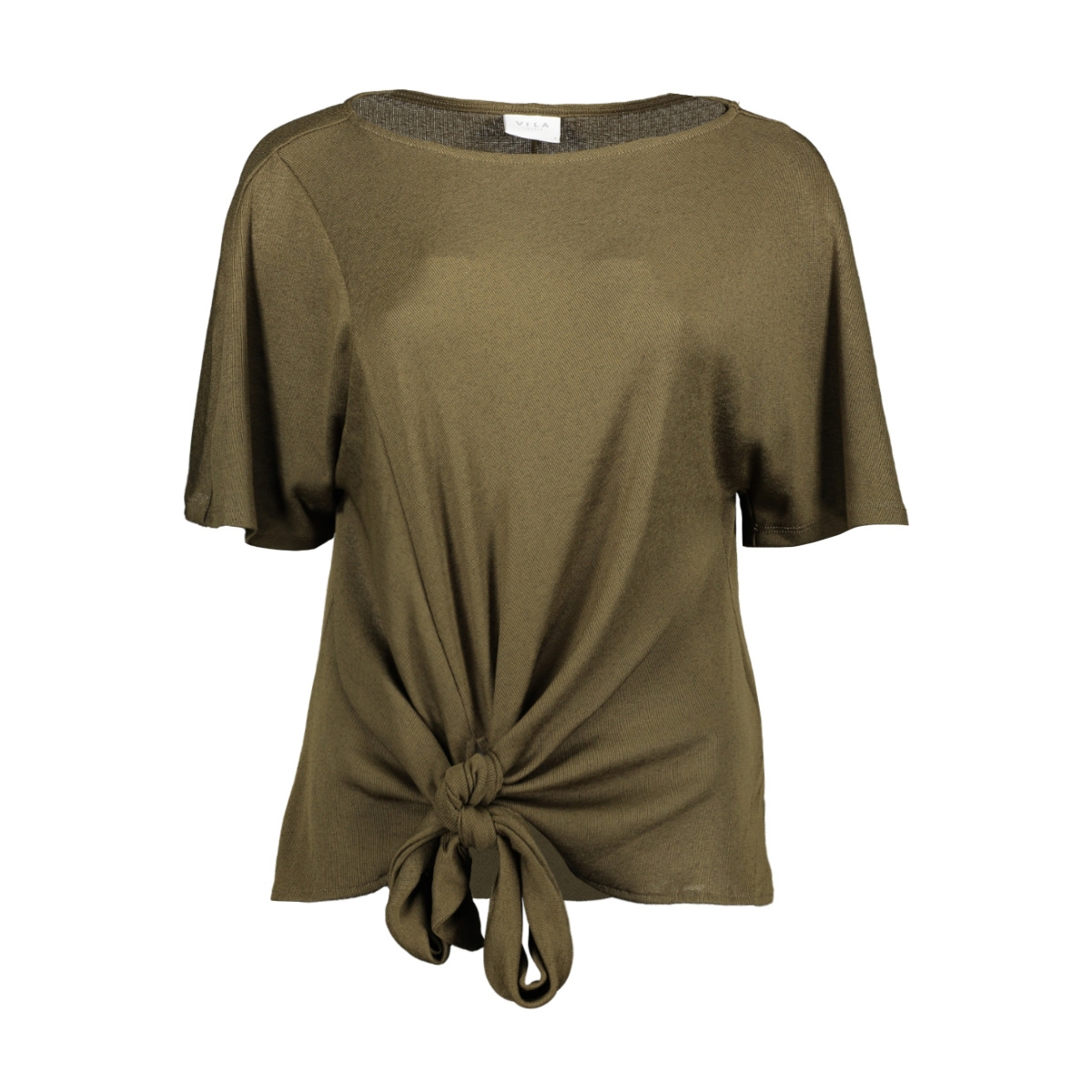 vinamina s/s t-shirt/1 14057193 vila t-shirt dark olive