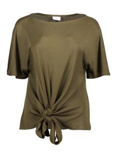 Vila T-shirt VINAMINA S/S T-SHIRT/1 14057193 Dark Olive