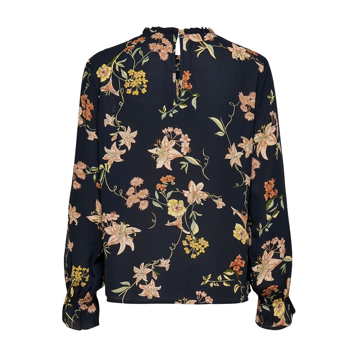 jdyjade l/s top wvn 15198847 jacqueline de yong blouse navy blazer/floral