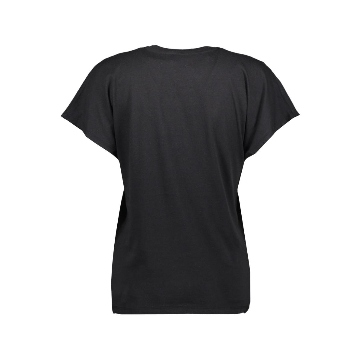onlcarin reg bat s/s chain mix top 15193290 only t-shirt black/now