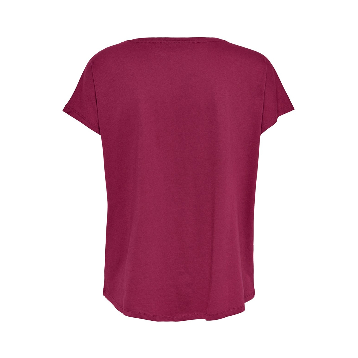 onpgemini loose ss tee 15175594 only play sport shirt beet red/w. beet red
