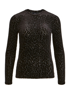 Object T-shirt OBJMARIA L/S TOP A DIV 23029364 Black