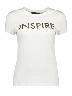 Only T-shirt ONYSOFIA S/S ANIMAL TOP BOX JRS 15190531 Bright White/INSPIRE