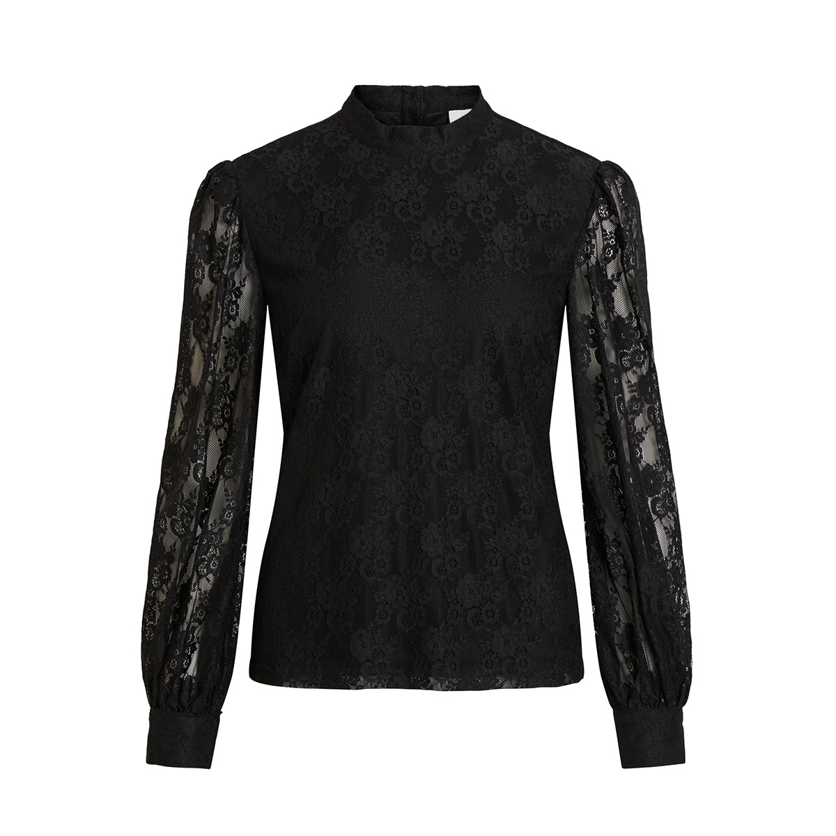 vilava l/s top 14056634 vila t-shirt black