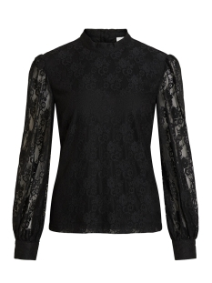 Vila T-shirt VILAVA L/S TOP 14056634 Black