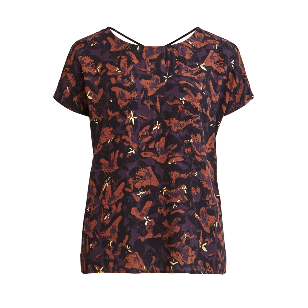 objelma clarissa ss top 106 23031109 object t-shirt nightshade