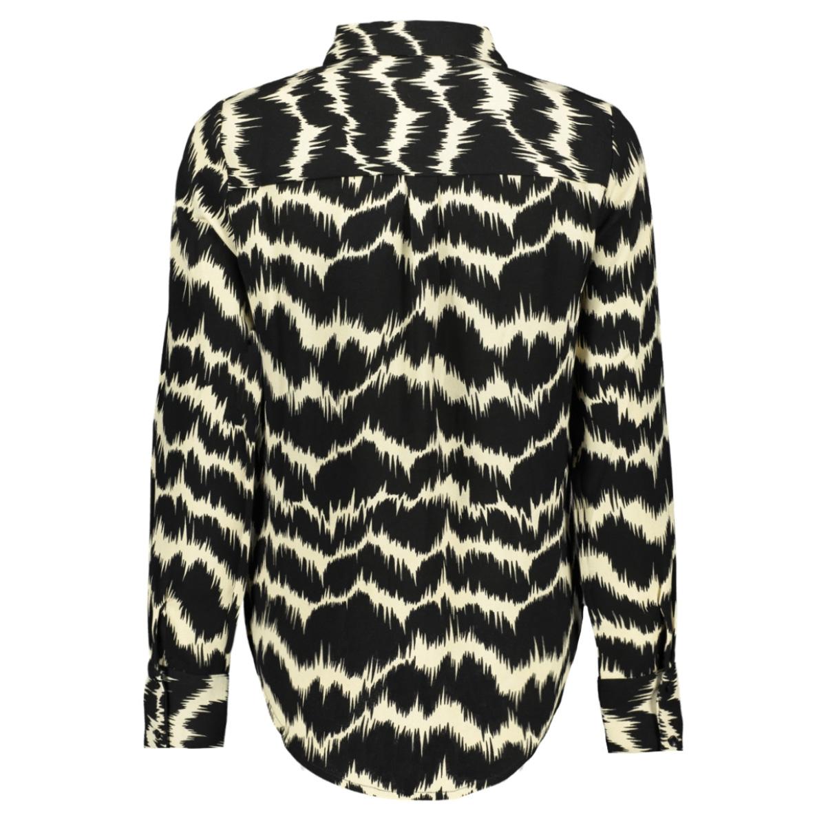 vmnatalie l/s shirt sb1 10229495 vero moda blouse black/natalie