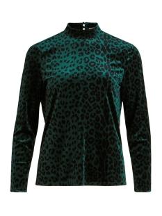 Vila T-shirt VILINAO L/S TOP/L 14055662 PINE GROVE