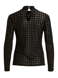 vidarling hound l/s t-shirt/l 14056584 vila t-shirt black