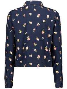 onlamanda l/s knot top wvn 15193846 only blouse night sky