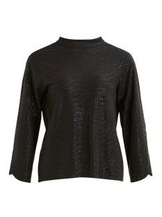objshine 3/4 top 106 23030705 object t-shirt black