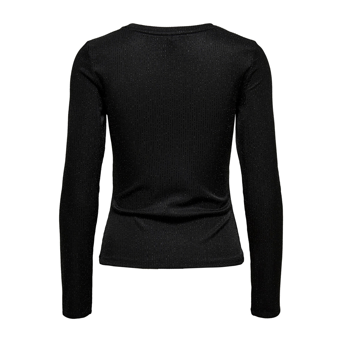 onlcosmo l/s glitter top jrs 15189750 only t-shirt black