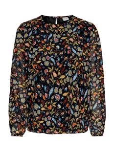 jdyolivia l/s blouse wvn 15185620 jacqueline de yong blouse black/multiflow