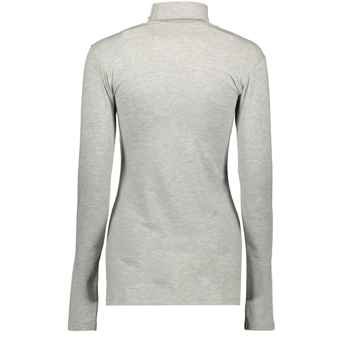 high neck tee 20 772 9104 10 days t-shirt light grey melee