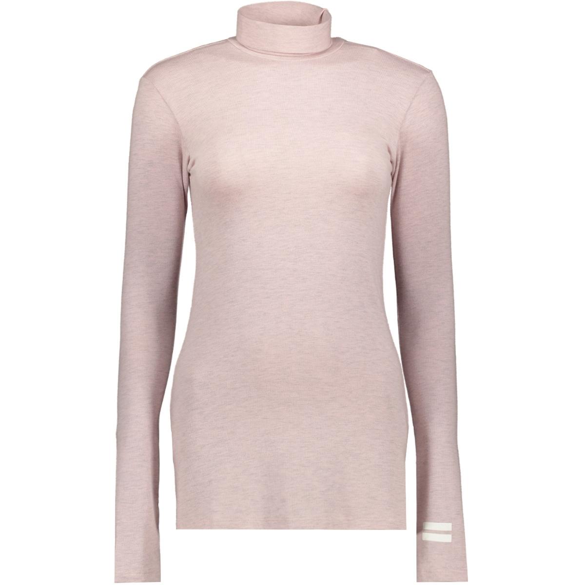 high neck tee 20 772 9104 10 days t-shirt light pink melee
