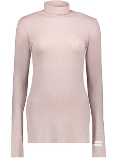 high neck tee 20 772 9104 10 days t-shirt light pink melee