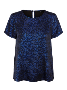 Vero Moda T-shirt VMDAKOTA S/S TOP WVN LCS 10227181 Black/SODALITE B