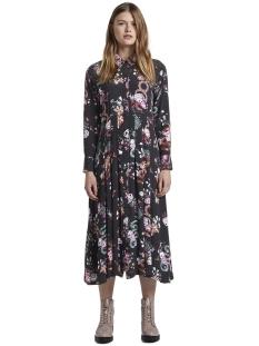 maxijurk van bloemenpatroon 1015628xx71 tom tailor jurk 20777