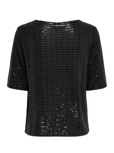 jdypacey s/s top jrs exp 15197042 jacqueline de yong t-shirt black/black rubber