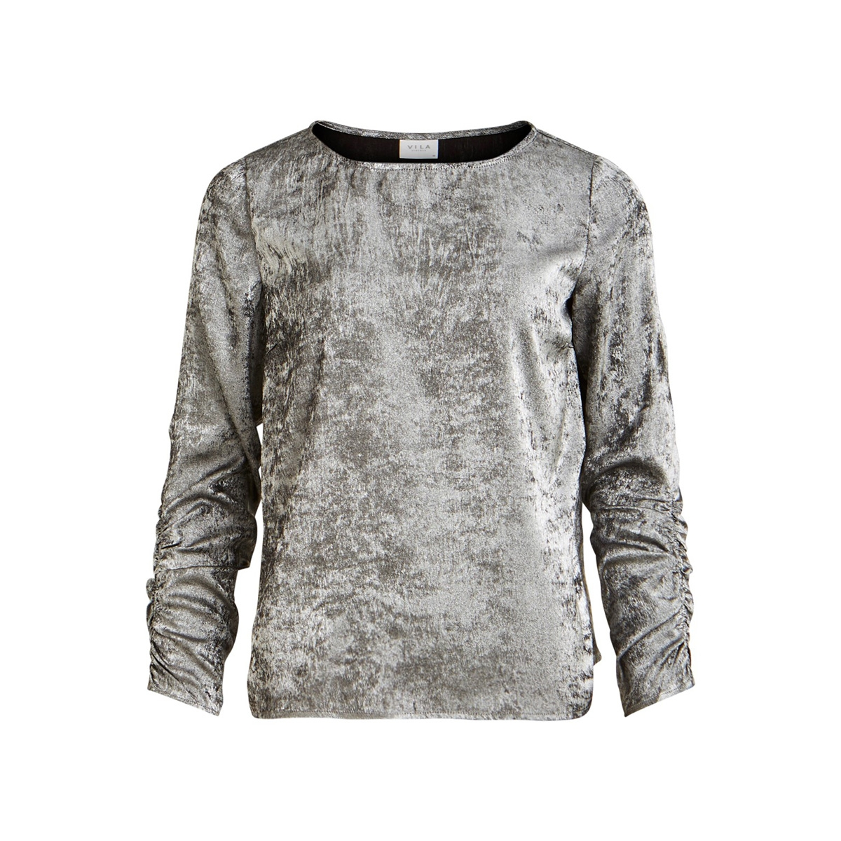 viopal l/s top 14056767 vila t-shirt silver