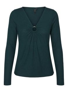 Vero Moda T-shirt VMWILMA L/S RIB RING DETAIL EXP 10229787 Ponderosa Pine