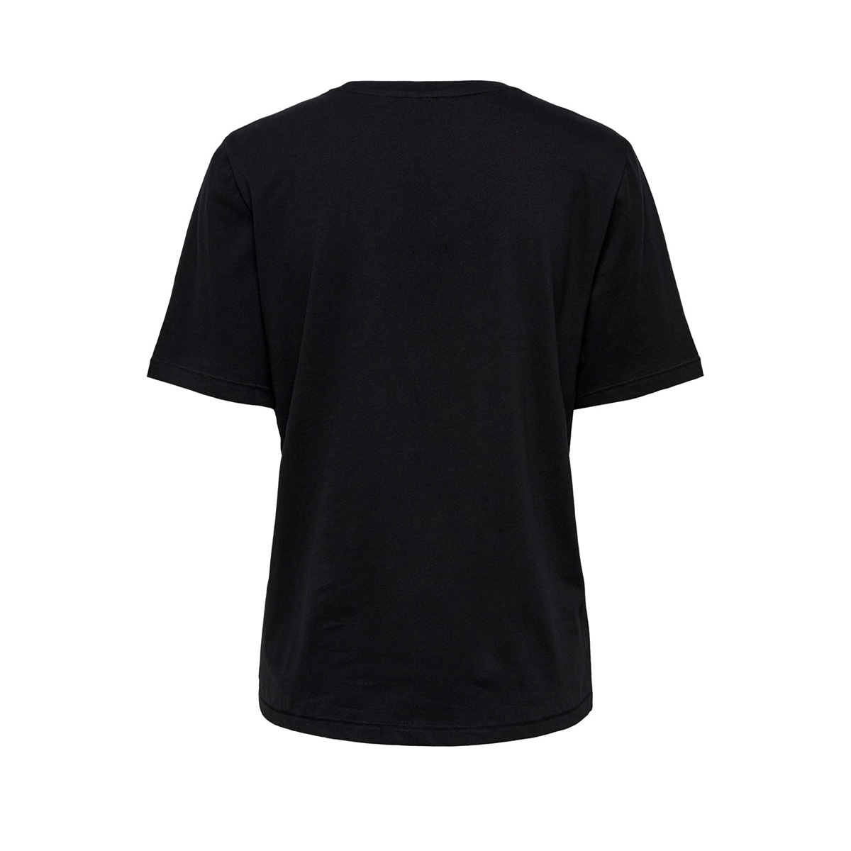 onlmode boxy s/s top box jrs 15195469 only t-shirt black/black