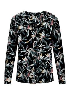vmgrace l/s top exp 10211330 vero moda blouse black/big flow