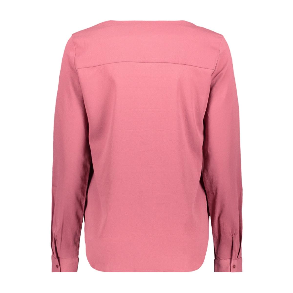 vmgrace l/s top exp 10211330 vero moda blouse hawthorn rose