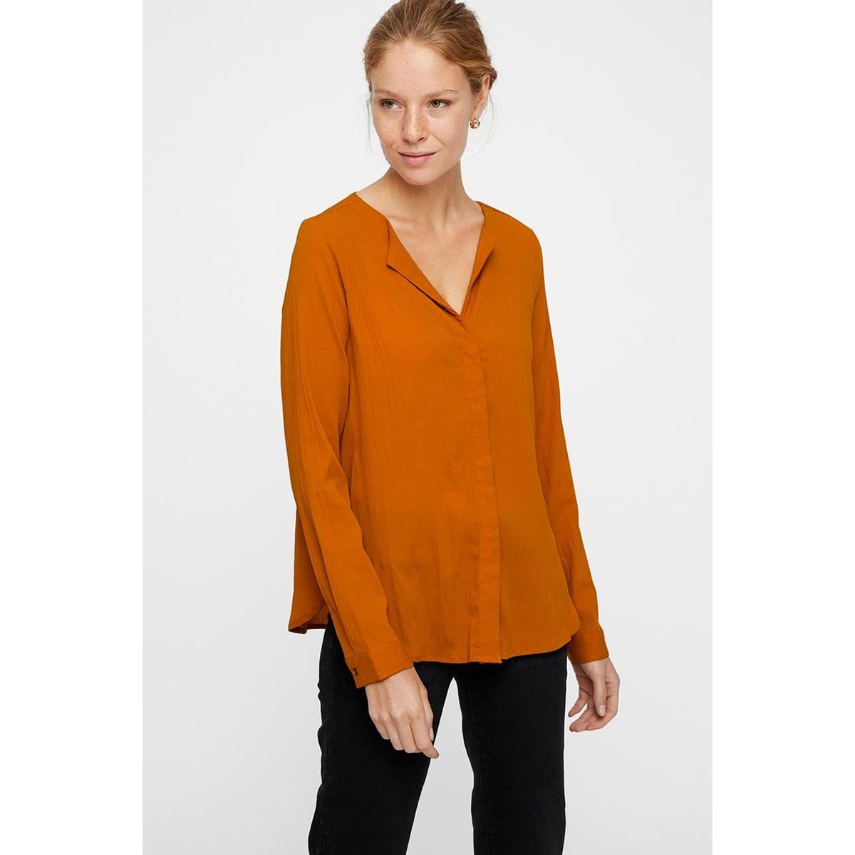 vmgrace l/s top exp 10211330 vero moda blouse cathay spice