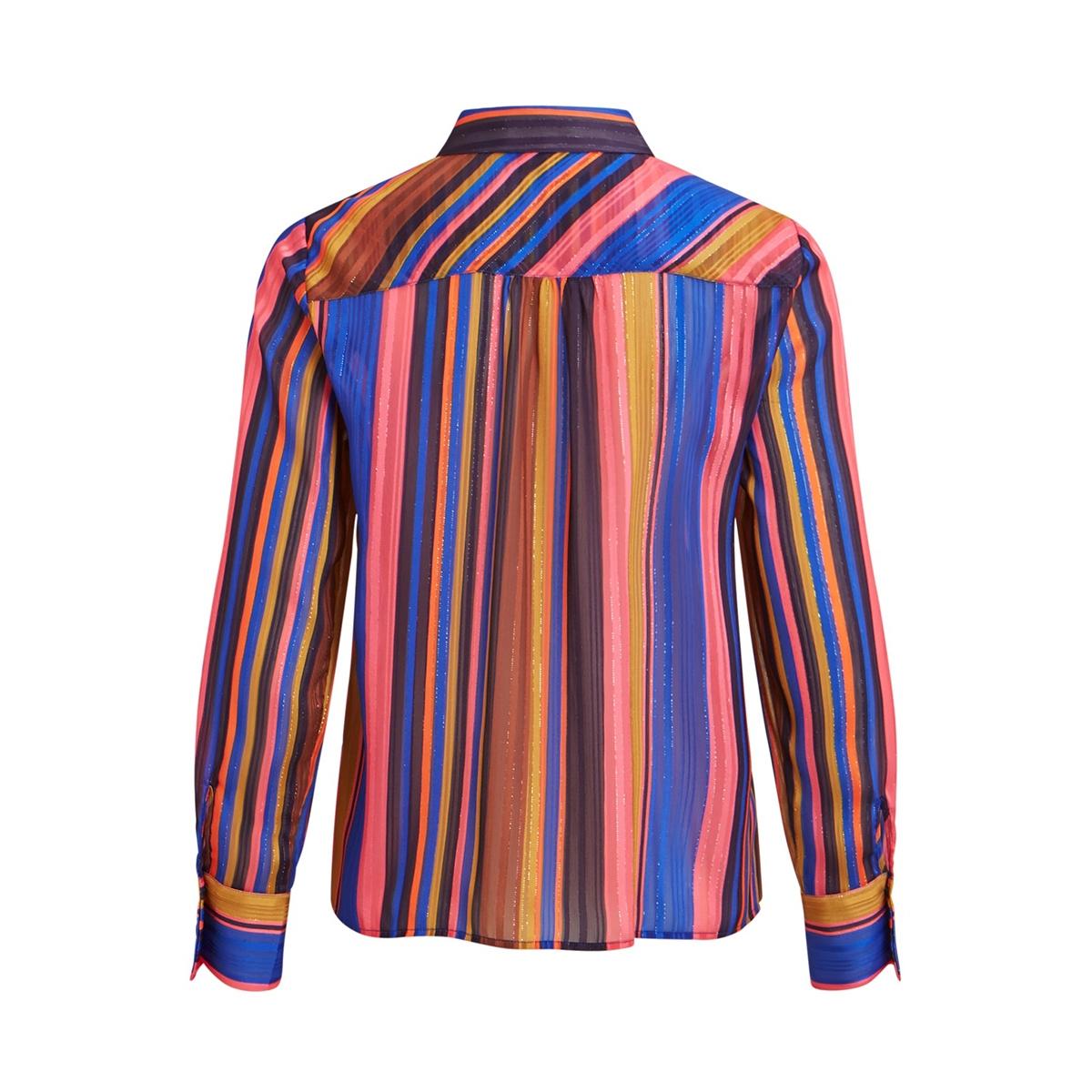 objhilma ls shirt 106 23030823 object blouse honeysuckle/aop