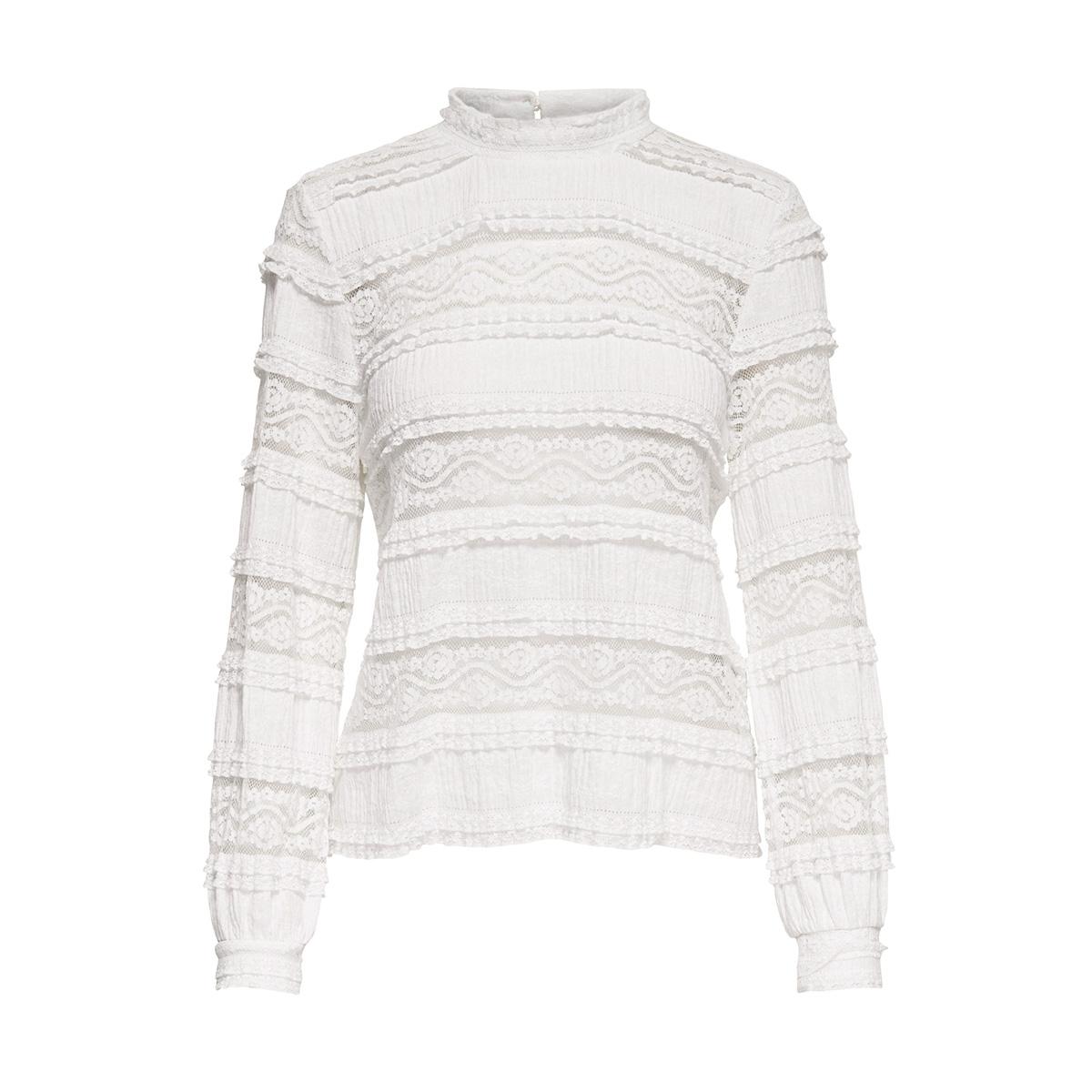 onlmarjorie l/s top  jrs 15164173 only blouse cloud dancer