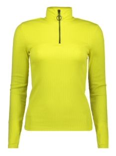 Noisy may T-shirt NMROX L/S HIGH NECK TOP 27009809 Evening Primrose