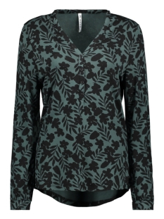 Zoso Blouse DAZE SHIRT WITH PRINT 195 FOREST/BLACK
