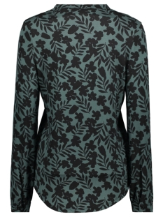 daze shirt with print 195 zoso blouse forest/black