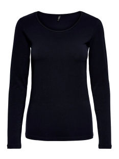 Only T-shirt ONLLIVE LOVE L/S O-NECK TOP NOOS JR 15204712 Night Sky