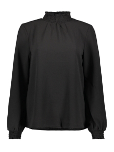onlnova lux solid smock high neck top 15192960 only blouse black