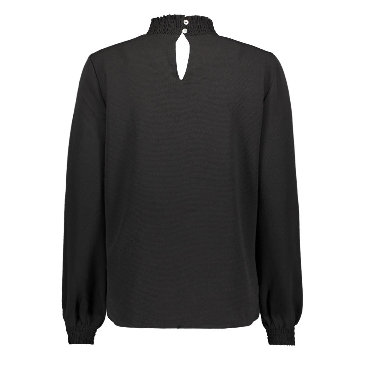 onlnova lux solid smock high neck top 15192960 only blouse black