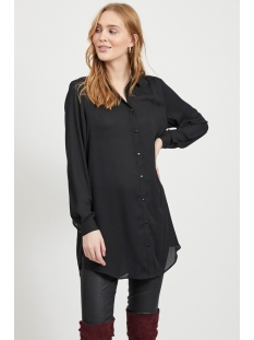 Vila Tuniek VILUCY BUTTON  L/S TUNIC - NOOS 14054702 Black