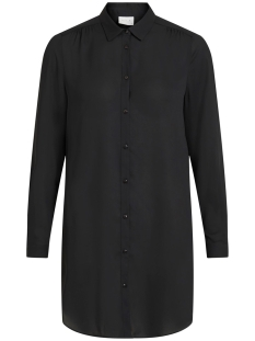vilucy button  l/s tunic - noos 14054702 vila tuniek black