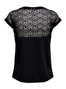 jdykamira s/s lace top jrs 15194951 jacqueline de yong t-shirt black/dtm lace
