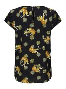 onlaya vic s/s top  wvn 15209414 only t-shirt black/w. lions